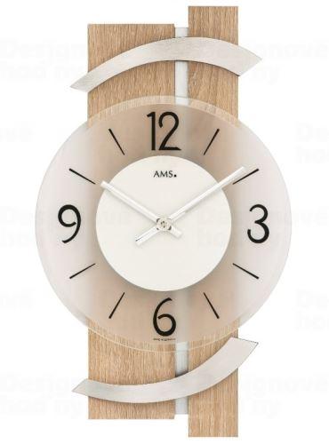 Nástenné hodiny 9546 AMS 40cm