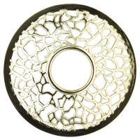 Ozdobný prstenec MATRIX BRUSHED SILVER