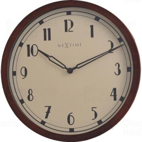 Dizajnové nástenné hodiny 3055 Nextime Royal 34cm