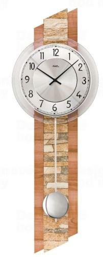 Kyvadlové nástenné hodiny 7424 AMS 67cm