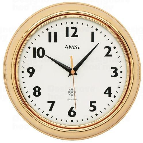 Nástenné hodiny 5964 AMS riadené rádiovým signálom 23cm