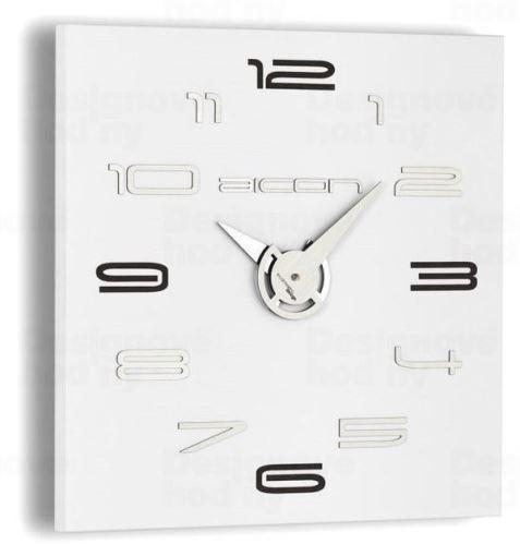 Dizajnové nástenné hodiny I119WB IncantesimoDesign 40cm