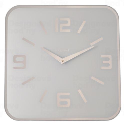 Dizajnové nástenné hodiny 8149wi Nextime Shoko 43cm
