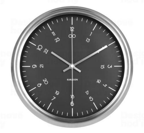 Dizajnové nástenné hodiny KA5597BK Karlsson 30cm