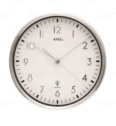 Nástenné hodiny 5912 AMS riadené rádiovým signálom 25cm