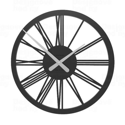 Dizajnové hodiny 10-114 CalleaDesign 45cm (viac farieb) Farba grafitová (tmavo šedá) - 3