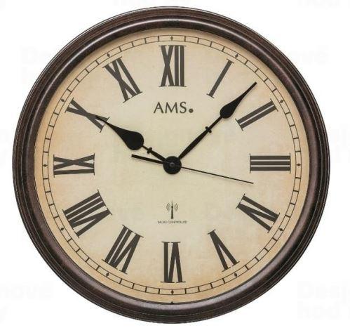 Nástenné hodiny 5977 AMS riadené rádiovým signálom 42cm