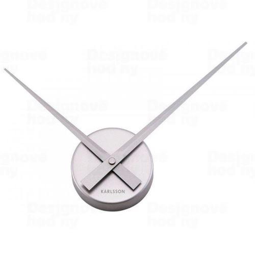 Dizajnové nástenné hodiny 4348SI Karlsson 38cm
