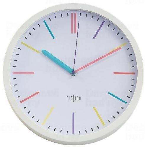 Dizajnové nástenné hodiny CL0294 fisúry 30cm