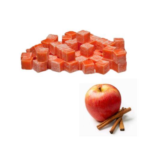 Scented cubes vonnný vosk do aromalámp - apple & cinnamon (jablko a škorica), 8x 23g