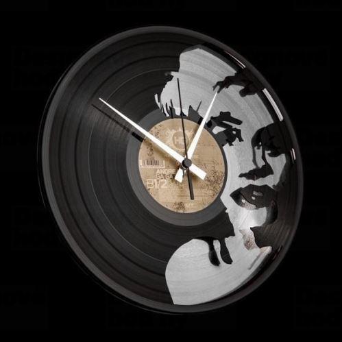 Dizajnové nástenné hodiny Discoclock 051 Marylin Silver 30cm