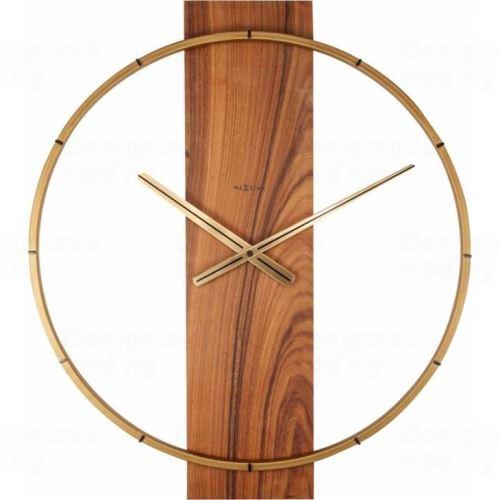 Dizajnové nástenné hodiny 3195br Nextime Carl 58cm