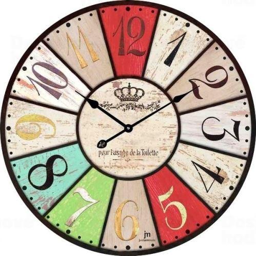 Dizajnové nástenné hodiny 14850 Lowell 34cm