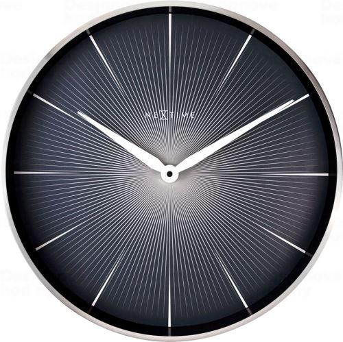 Dizajnové nástenné hodiny 3511zw Nextime 2 Seconds 40cm