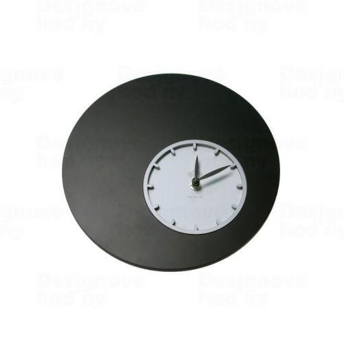 Dizajnové nástenné hodiny 1200 Calleadesign 26cm (20 farieb) Farba čierna