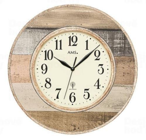 Nástenné hodiny 5975 AMS riadené rádiovým signálom 35cm