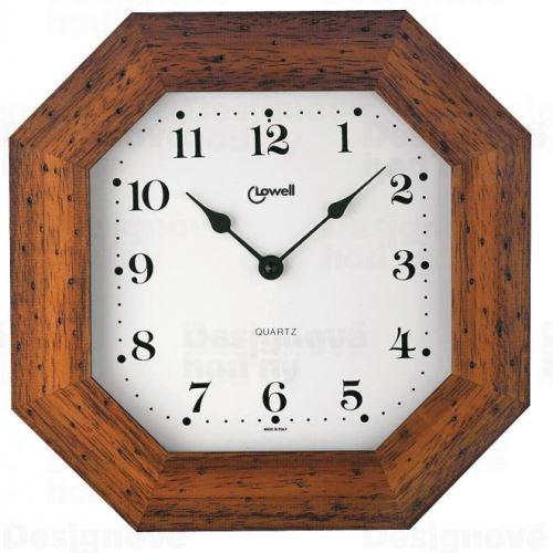 Dizajnové nástenné hodiny Lowell 01748NA Clocks 29cm