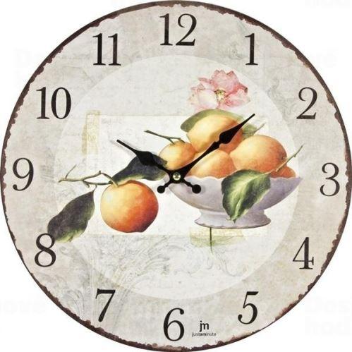 Dizajnové nástenné hodiny 21423 Lowell 34cm