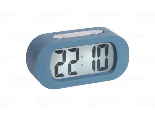 Stolové digitálne hodiny-budík Karlsson KA5753BL