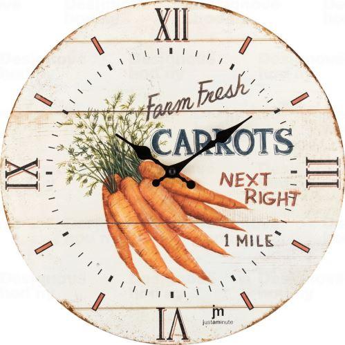 Dizajnové nástenné hodiny 21492 Lowell 34cm