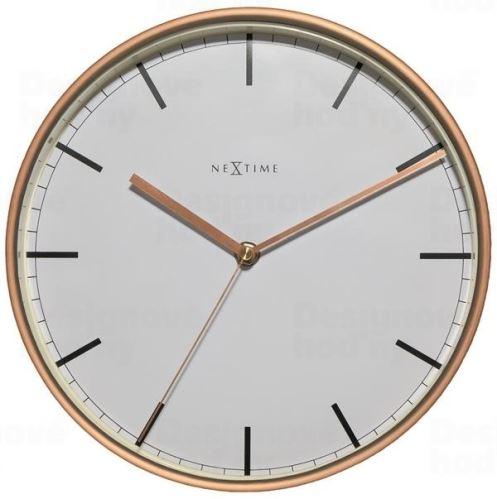 Dizajnové nástenné hodiny 3119st Nextime Company 25cm