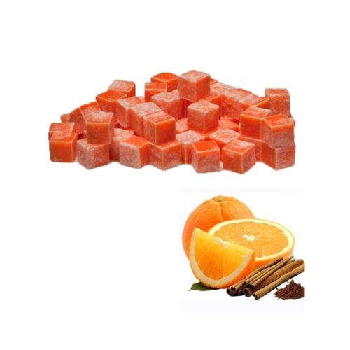 Scented cubes vonnný vosk do aromalámp - orange & cinnamon (pomaranč a Skočice), 8x 23g