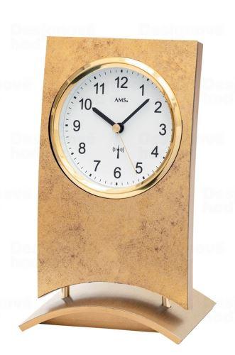 Stolové hodiny 5157 AMS riadené rádiových signálom 21cm