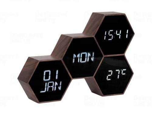 Digitálne nástenné / stolové hodiny KA5805WD Karlsson 18cm