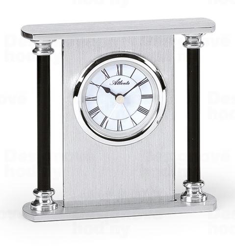 Dizajnové stolové hodiny s funkciu budíka AT3096-19