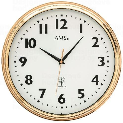 Nástenné hodiny 5963 AMS riadené rádiovým signálom 32cm