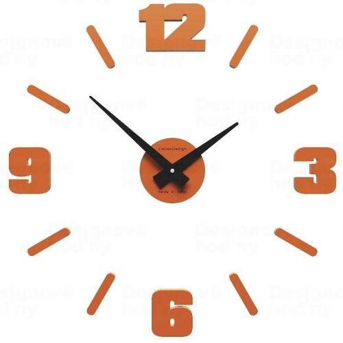 Dizajnové hodiny 10-304 CalleaDesign Michelangelo S 50cm (viac farebných verzií) Farba čokoládová - 69