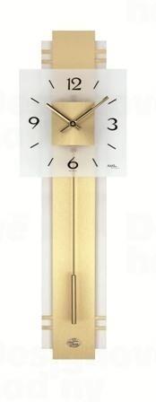 Kyvadlové nástenné hodiny 7301 AMS 68cm
