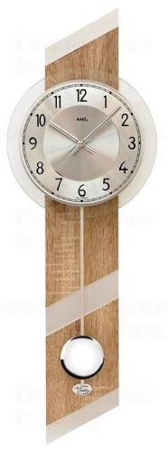 Kyvadlové nástenné hodiny 7415 AMS 69cm