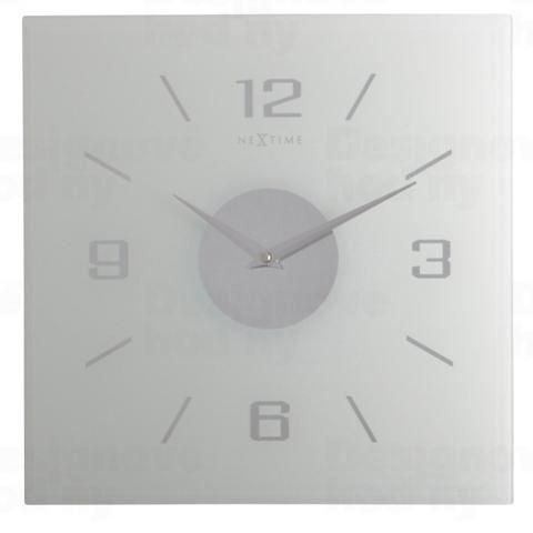 Dizajnové nástenné hodiny 2667fr Nextime WILLIE 35x35cm