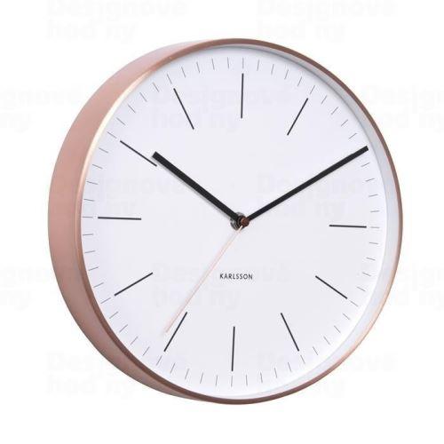 Dizajnové nástenné hodiny 5507WH Karlsson 28cm