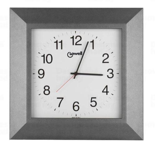 Dizajnové nástenné hodiny 04637G Lowell 40cm