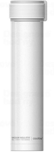 ASOBO trendy cestovné termofľaša Skinny biela 230ml