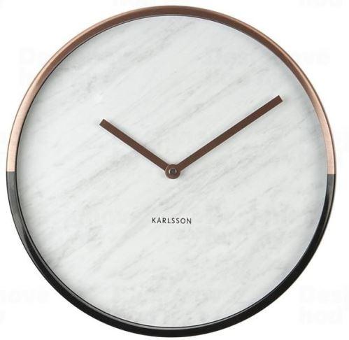 Dizajnové nástenné hodiny 5605WH Karlsson 30cm