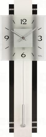 Kyvadlové nástenné hodiny 7314 AMS 68cm