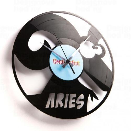 Dizajnové nástenné hodiny Discoclock Z01 Baran 30cm