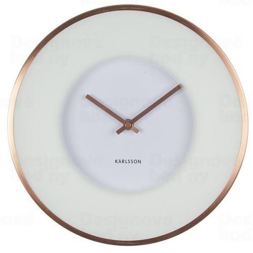 Dizajnové nástenné hodiny 5614 Karlsson 30cm