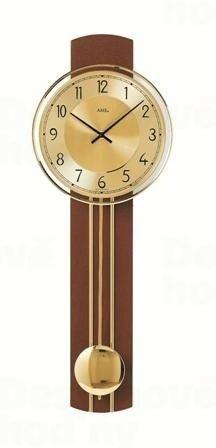 Kyvadlové nástenné hodiny 7115/1 AMS 60cm