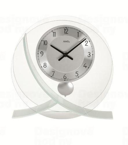 Stolové kyvadlové hodiny 161 AMS 23cm