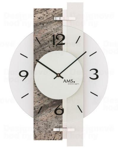 Nástenné hodiny 9558 AMS 40cm