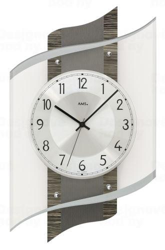 Dizajnové nástenné hodiny 5519 AMS 48cm