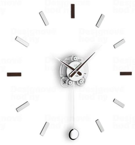 Dizajnové nástenné hodiny I202W IncantesimoDesign 80cm