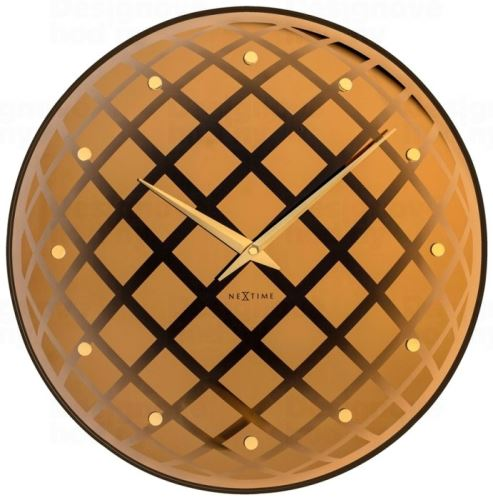 Dizajnové nástenné hodiny 8185co Nextime Pendula Round 43cm