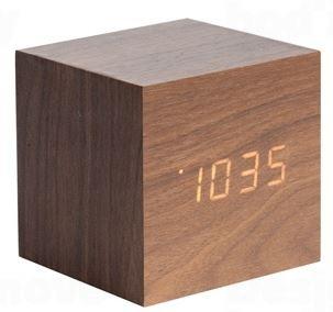 Dizajnový LED budík - hodiny 5655DW Karlsson 8cm