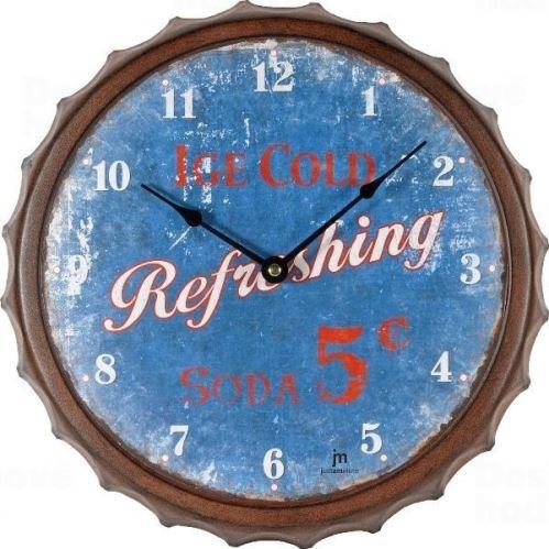 Dizajnové nástenné hodiny 21448 Lowell 33cm