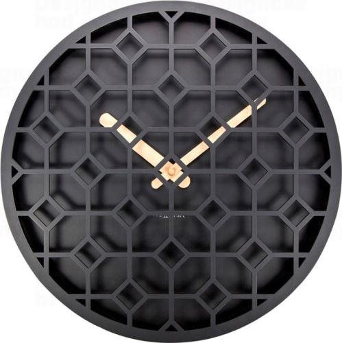 Dizajnové nástenné hodiny 3215zw Nextime Discrete 36cm